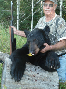 Ontario Bear Hunting on Eagle Lake