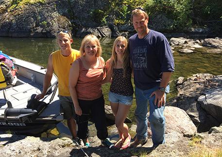 Cedar Point Lodge family