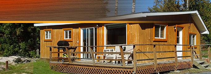 Modern Cabin No.10 on Eagle Lake